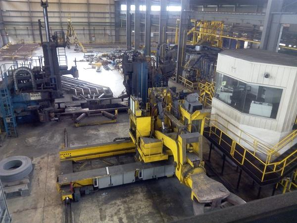 Circular hydraulic mill, maintenance