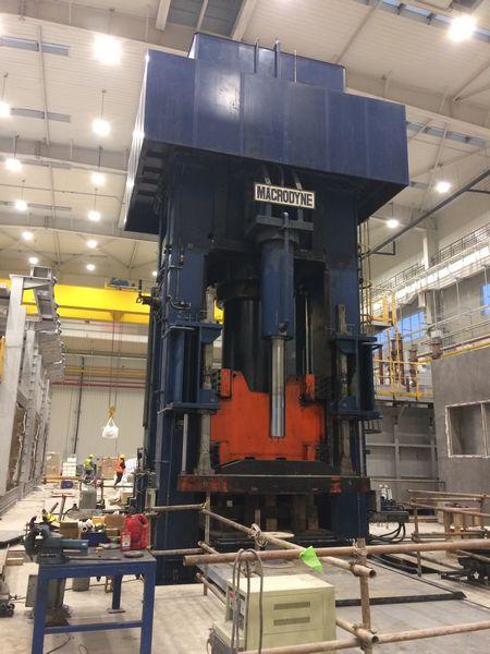 5000 t hydraulic press manufacturer, hydraulic equipment design