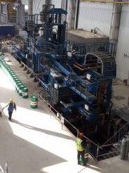 5000 t press installer, mill