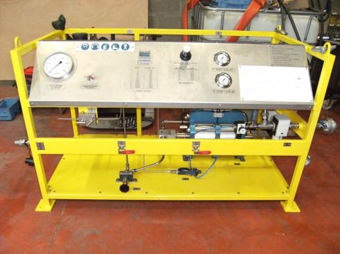 Design of test bench for riser