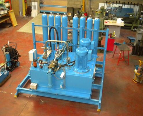 Centrale hydraulique industrielle pour presse