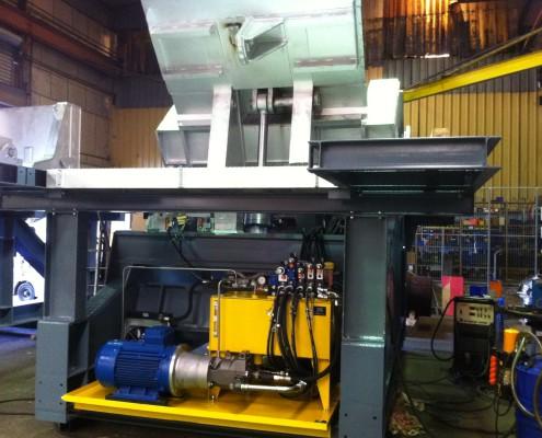 Centrale hydraulique (HPU) pour basculeur sidérurgique