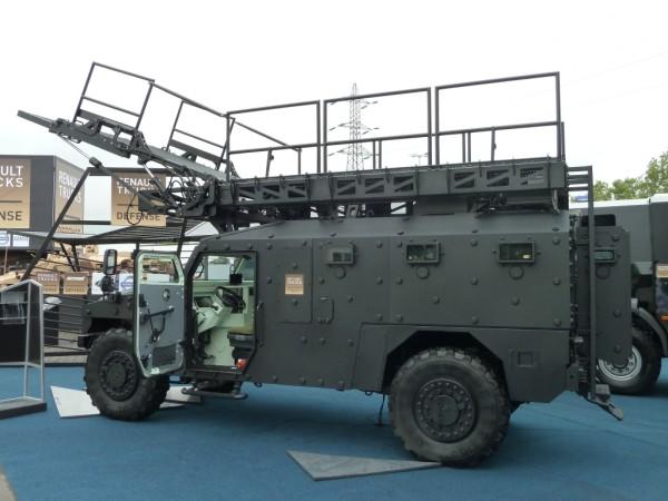 Conception d'éléments pour véhicule militaire d'assaut