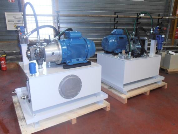 Conception de centrale hydraulique sur mesure