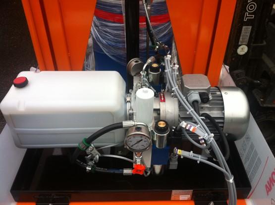 Mini centrale hydraulique double débit