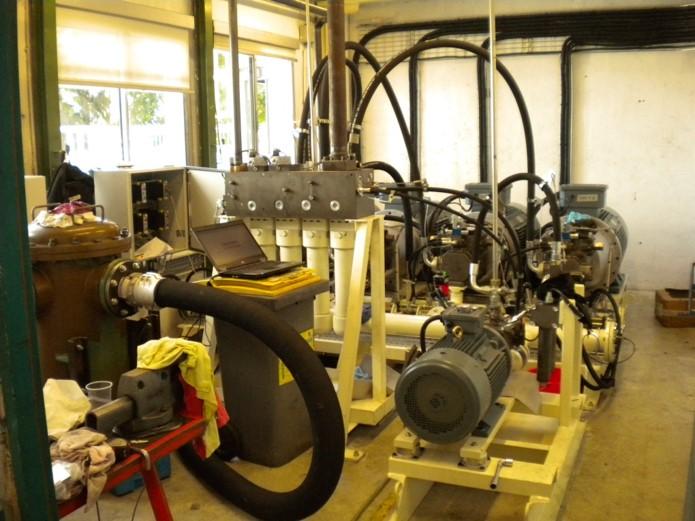 Retrofit installation hydraulique