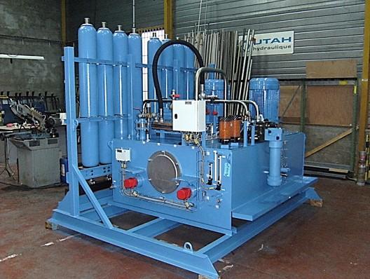 Skid hydraulique de puissance 2 fois 37 kw