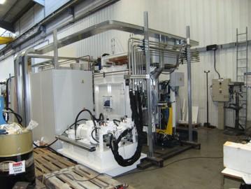 Tuyautage hydraulique machine outils