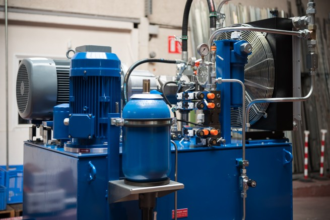 Système hydraulique industrie, conception, fabrication