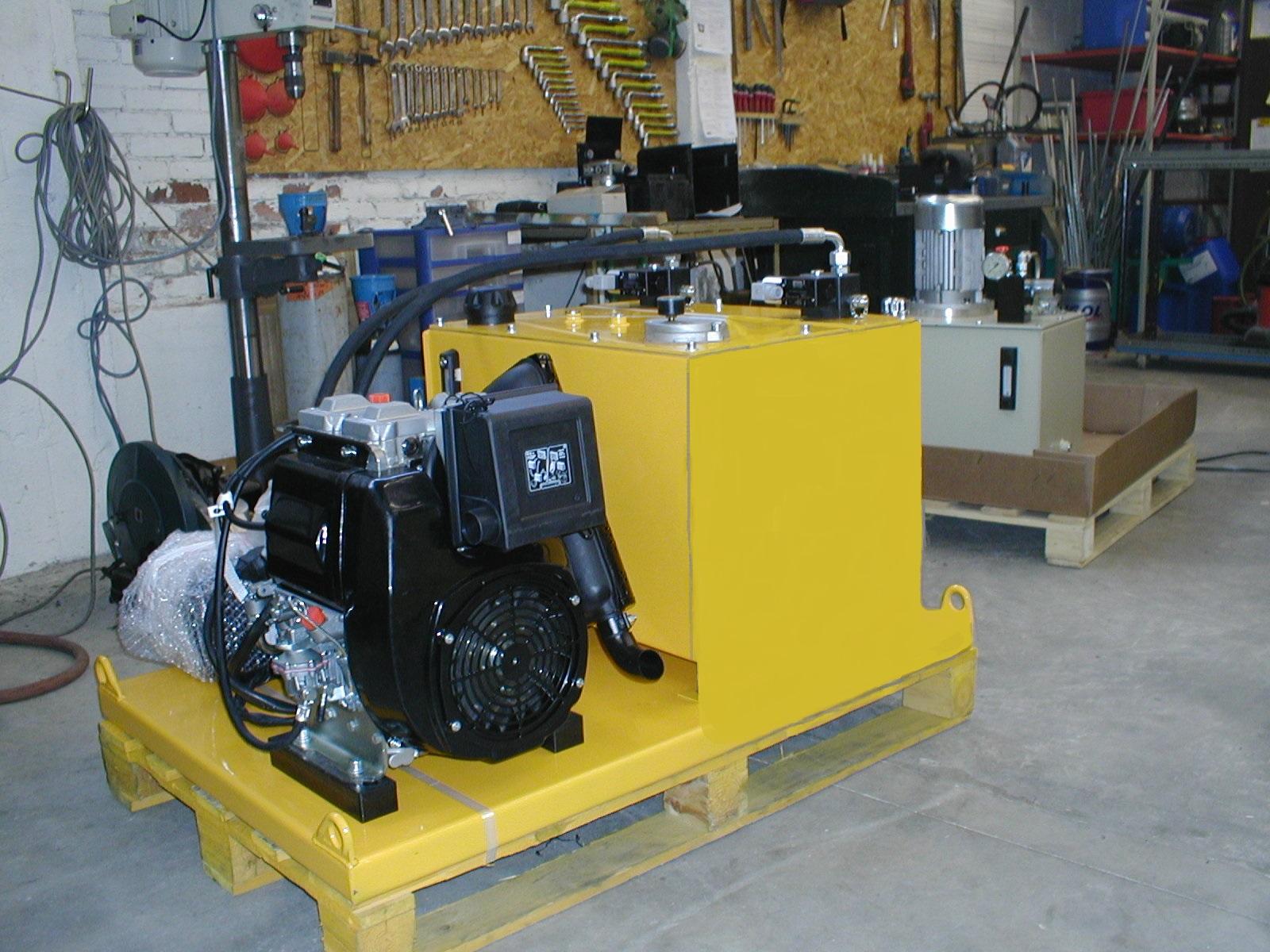 Fabrication groupe thermique, matériel hydraulique industriel