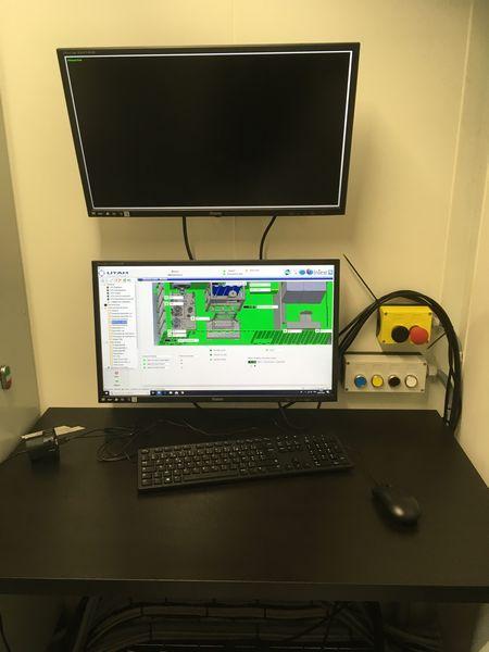 banc de test en conteneur, banc de test de valve hydraulique