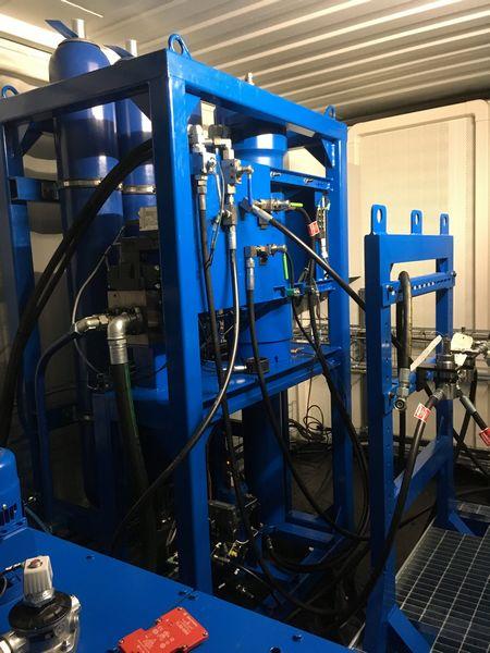 banc de test pour valves hydrauliques
