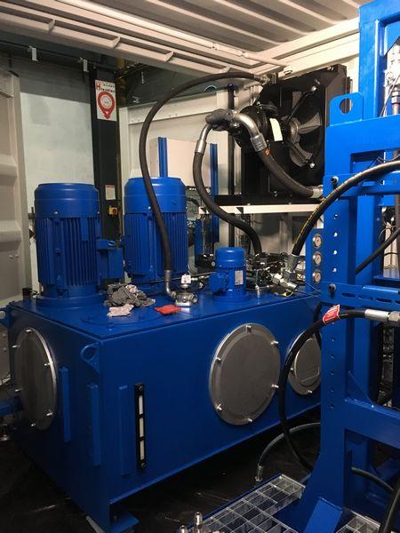 banc de test pour système hydraulique